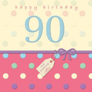 Happy Birthday Card 90